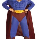 Superman Deluxe Muscle-Chest Child Costume Size: Large #881367L