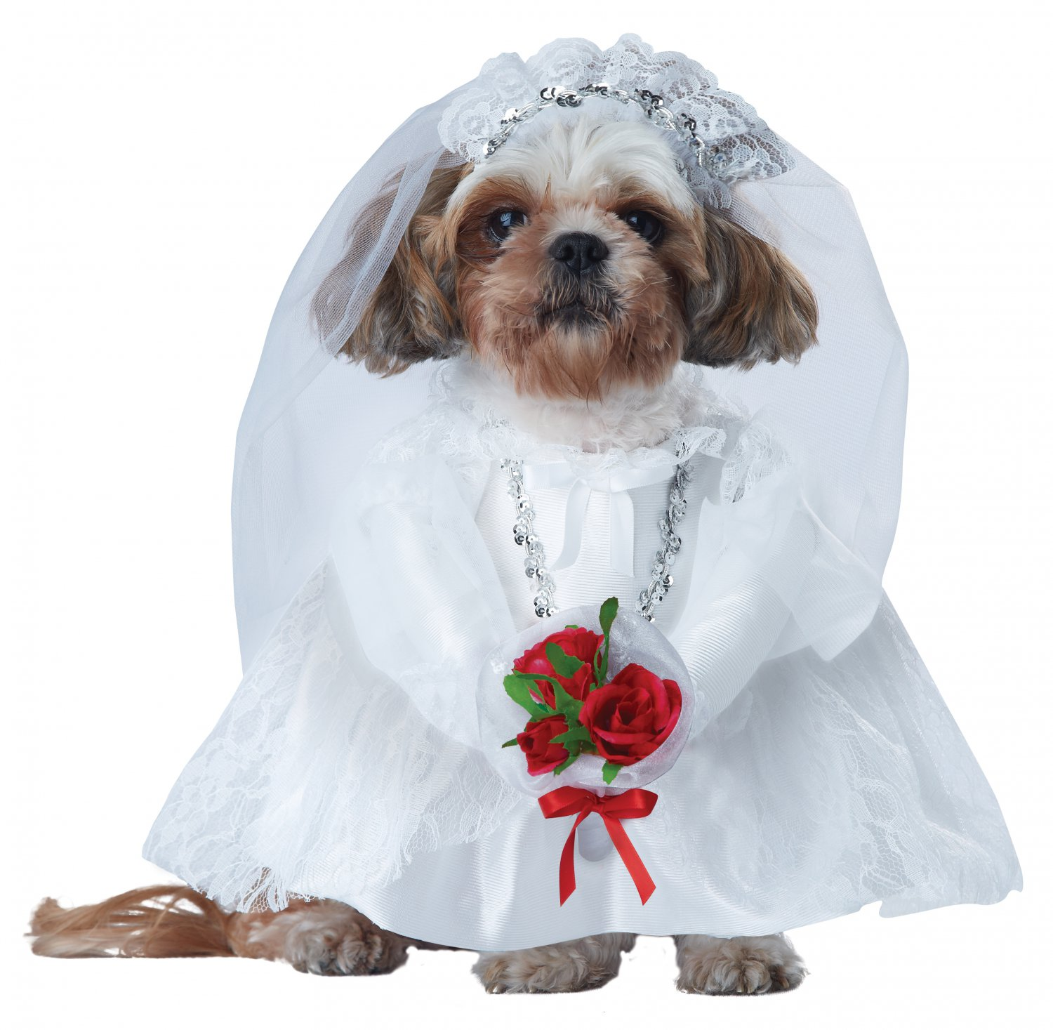 Puppy Love-Bride Pet Dog Costume Size: X-Small #20137
