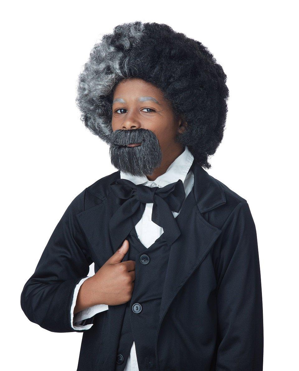 American History Frederick Douglas Child Wig & Goatee #70811