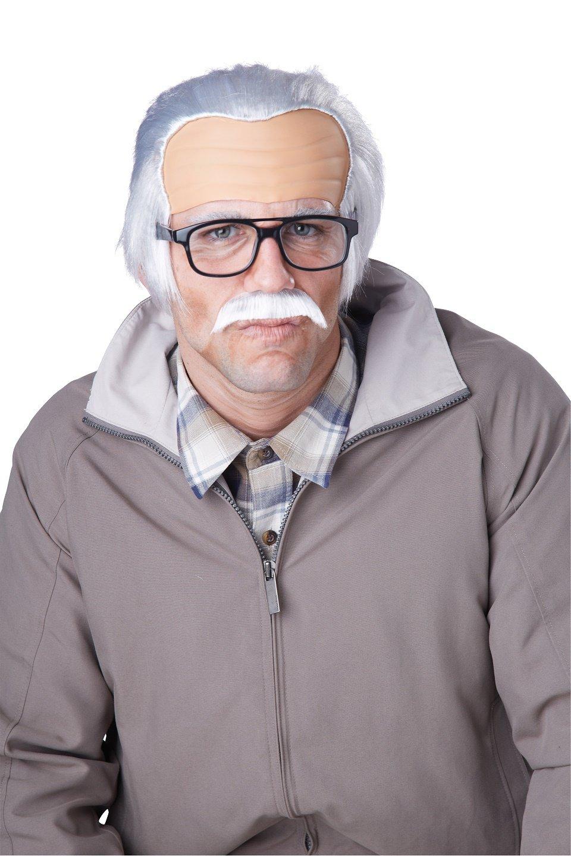 Grumpy Jackass Rude Grandpa Wig #70798