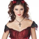 Devil Fairy Rose Enchantress Horns Adult Costume Accessory #60676