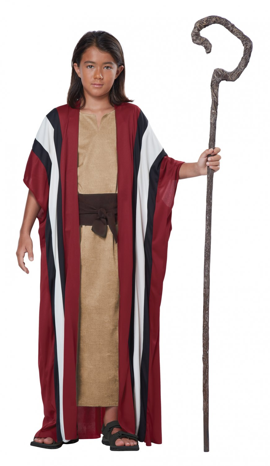 Ten Commandments Bible Shepherd Moses Child Costume Size: Small/Medium #00476