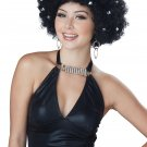 Disco Party All Night Wig (Black) #70826