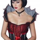 Dark Gothic Vampire Countess Bloodstone Wig  #70825