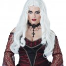 Ghost Demon Vampire Gothique En Blanc Wig (White) #70814