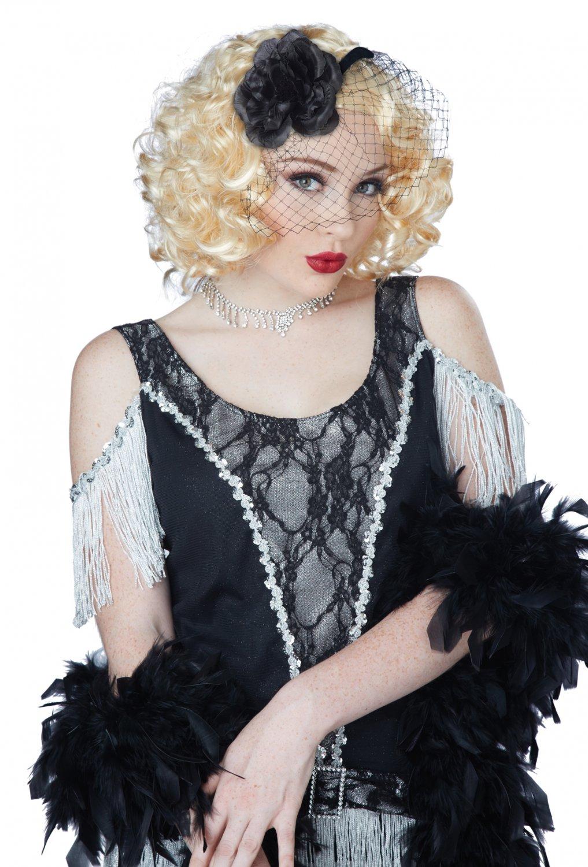 1920's Fashion Flapper Savoir Faire Wig (Blonde) #70808