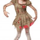 Voodoo Dolly Witch Craft Child Tween Costume Size: Medium #04078