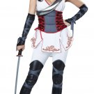 Sexy Ninja Japanese Samurai Woman Warrior Adult Costume Size: X-Small #01302