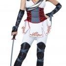 Japanese Samurai Sexy Ninja Woman Warrior Adult Costume Size: Small #01302