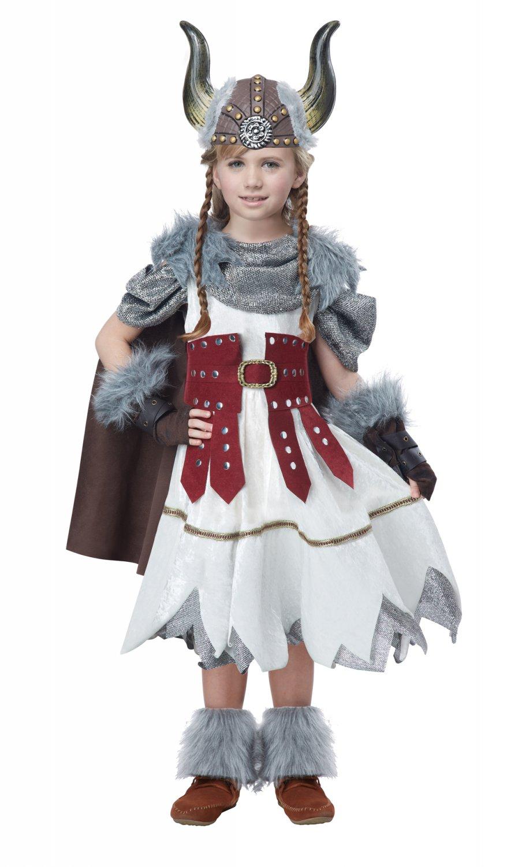 Nordic Valorous Vikings Girl Game of Thrones Child Costume Size: Large #00532