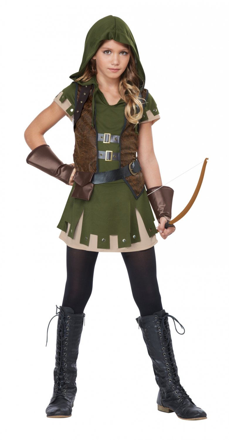 Medieval Times Miss Robin Hood Child Tween Child Costume Size: X-Large #04091