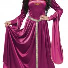 Renaissance Lady Guinevere Medieval Times Adult Costume Size: Large #01379