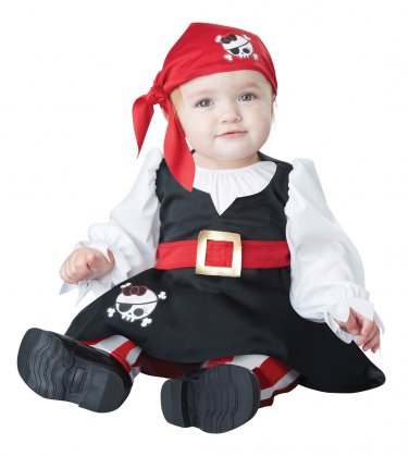 Buccaneer Petite Pirate Baby Infant Costume Size: 18-24 Months #10028