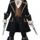 Deluxe Pirate Captain Buccaneer Child Costume Size: Large #00527