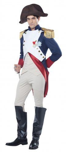 French Emperor Napoleon Bonaparte Adult Costume Size: Large #00836