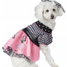 50's Poodle Pooch Skirt Pup Pet Dog Costume Size: Medium #20148