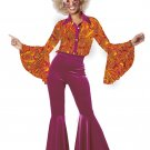 70's Funky Disco Diva Adult Costume Size: X-Small #01390