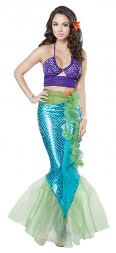 Sexy Ariel Mythic Mermaid Adult Costume Size: Large #01252