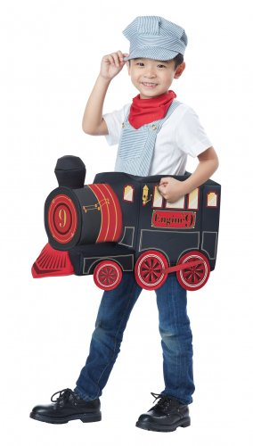 Thomas the Train Conductor All Aboard Toddler Costume Size: Medium/Large #00512