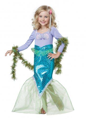Ariel Magical Mermaid Toddler Costume Size: Medium #00012