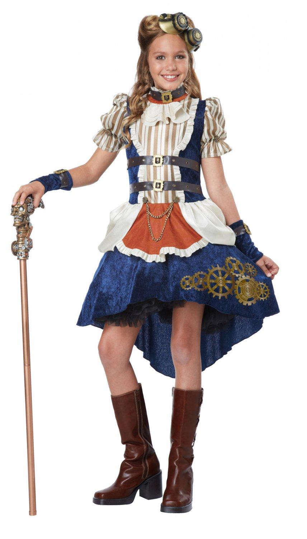 Victorian Steampunk Fashion Girl Child Tween Costume Size: Medium #04090