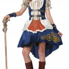 Steampunk Fashion Girl Victorian Punk Rock Child Tween Costume Size: X-Large #04090
