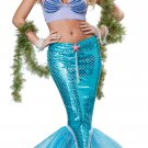 Sexy Ariel Deluxe Mermaid Adult Costume Size: X-Small #01299