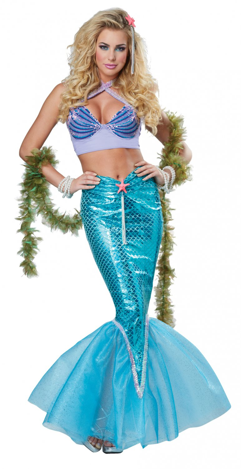 Sexy Ariel Deluxe Mermaid Adult Costume Size: Small #01299