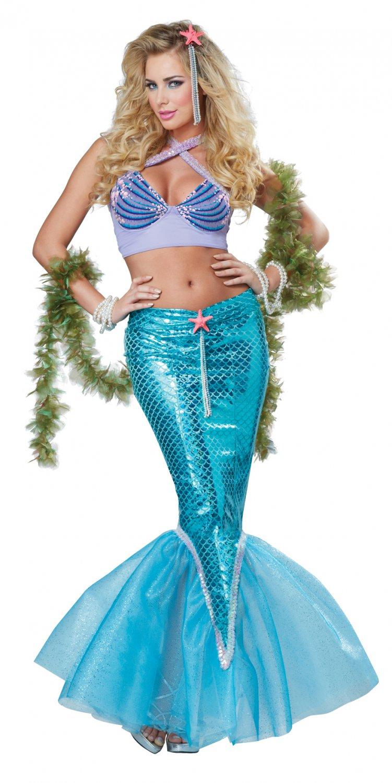 Sexy Ariel Deluxe Mermaid Adult Costume Size: Medium #01299