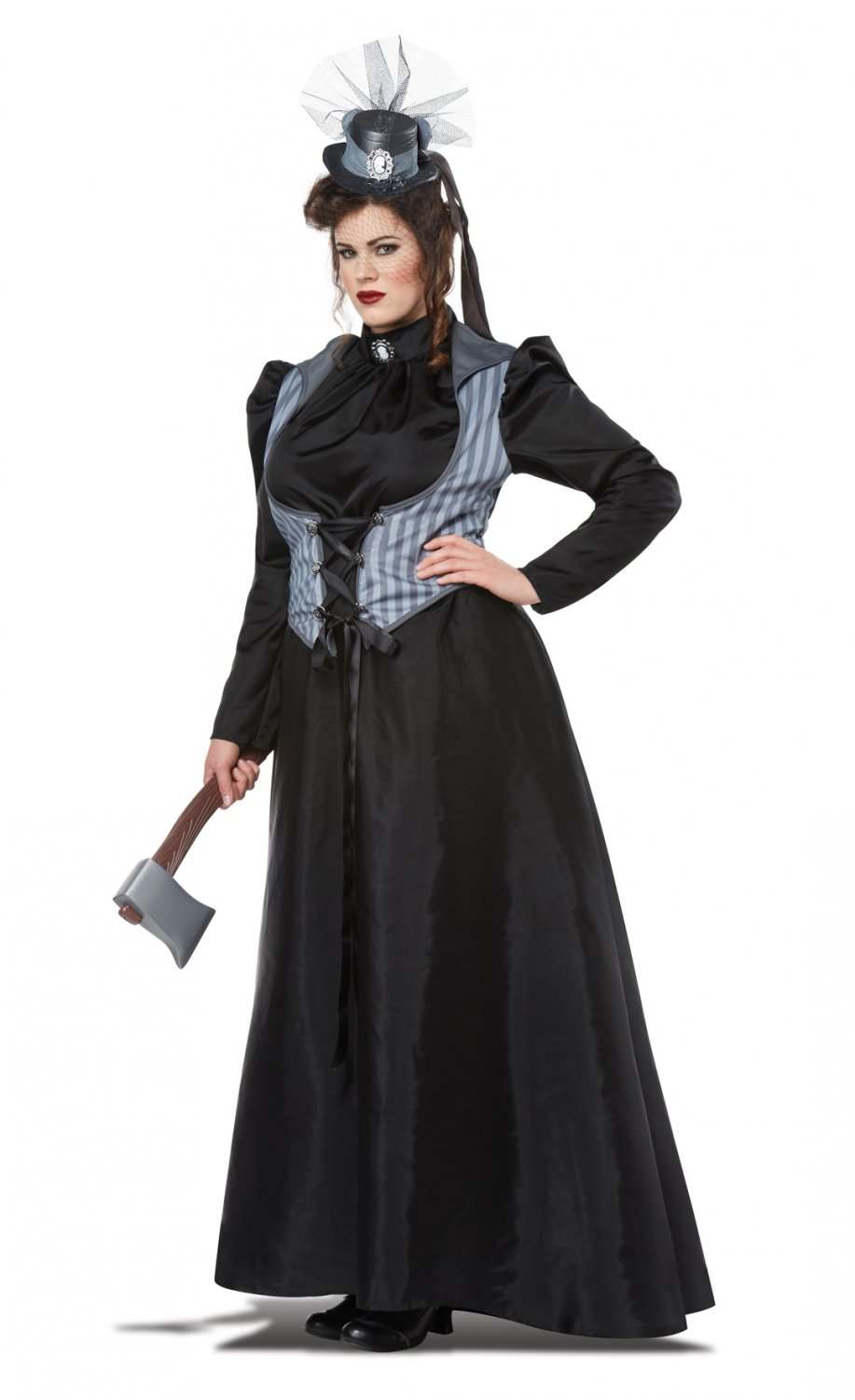 Lizzie Borden Axe Murderess Gothic Adult Plus Size Costume: 1X-Large #01763