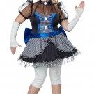 Phantom Gothic Twisted Baby Doll Adult Plus Size Costume: 2X-Large #01694