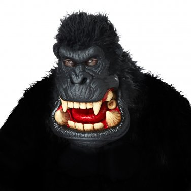 Standard Size: #60239 Killa Gorilla King Kong Ape Monkey Adult Costume Mask