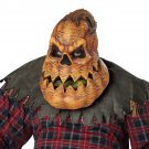 Standard Size #60278 Creepy Pumpkin Psycho Lantern  Halloween Adult Costume Mask