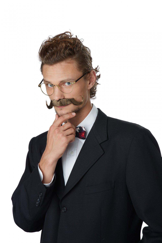 1920's Professor Handlebar Moustache  #70656