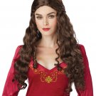 Viking Renaissance Medieval Lady Guinevere Games of Thrones Adult Costume Wig #70843