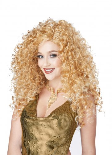 Sexy 70's Disco Diva Do Adult Costume Blonde Wig #70845