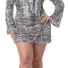 70's Disco Diva Plus Size Adult Costume: 1X-Large #01660