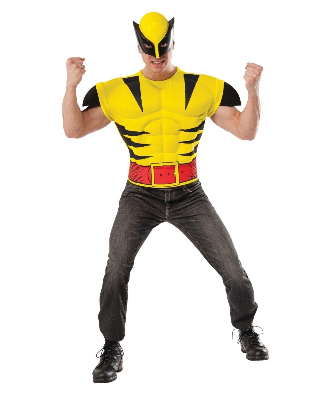 Marvel Comic Wolverine X-Men Muscle Shirt Adult Costume Size: Standard #820022S