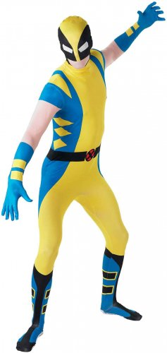 Marvel Universe Comic Wolverine X-Men  Adult 2nd Skin Costume Size: Medium #880827M
