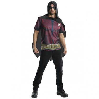 Gothic Batman Arkham City Robin Justice League Adult Costume Size: Large #88302L