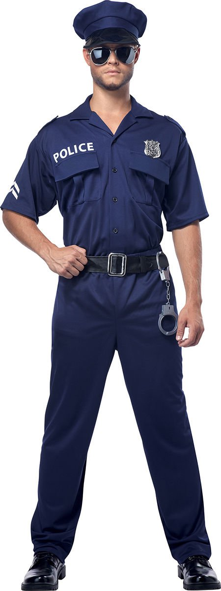 Swat Sheriff Police Officer Adult Costume Size: Medium #00923