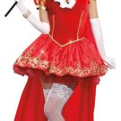 Queen of Heart Royals Dreamgirl Adult Costume Size: Small #9471