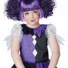 Gothic Dolly Clown Jester Child Wig  #70803
