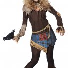 Size: Small #01439 Naughty Wizard of Oz Creepy Scarecrow Adult Costume
