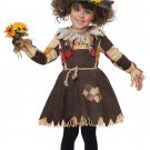 Size: Large #00177 Adorable Wizard of Oz Pumpkin Patch Scarecrow Toddler Costume