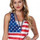 Size: Large/X-Large #60687 Patriot Lady Miss Independence American Flag Adult Costume