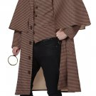 Victorian English Detective Sherlock Holmes Adult Costume Size: X-Large #01480