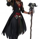 Size: Medium #01432 Wizard Gothic Voodoo Magic Adult Costume