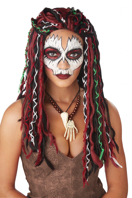 #70896 Dreadlocks Voodoo Priestess Witch Doctor Costume Accessory Wig