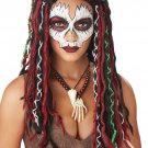 #70896 Dreadlocks Voodoo Priestess Witch Doctor Costume Accessory Wig